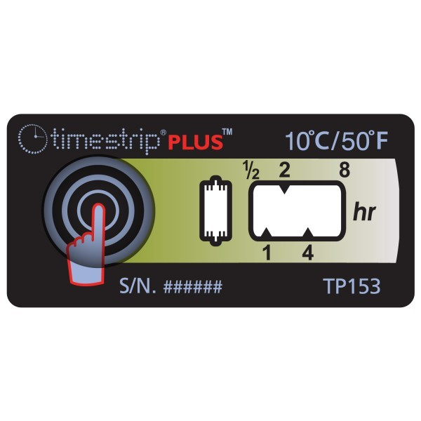 Temperaturindikator TimeStrip Plus